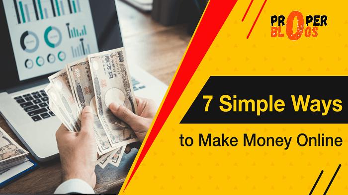 7 Way To Make Money Online